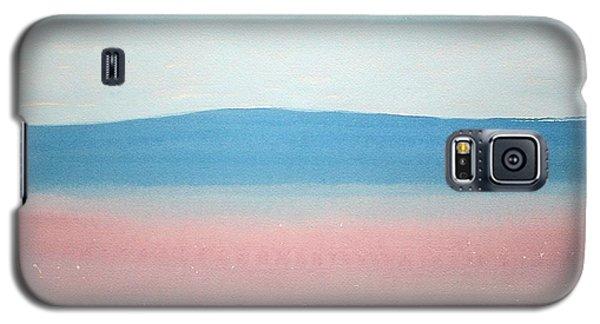 Misty Lake Original Painting Galaxy S5 Case