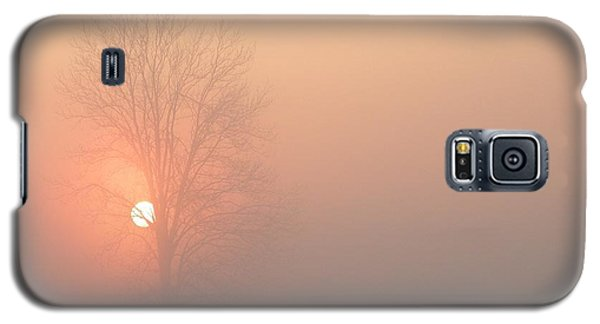 Galaxy S5 Case featuring the photograph Misty Morning by Carlee Ojeda