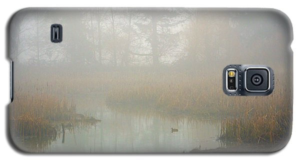 Galaxy S5 Case featuring the photograph Misty Morning by Jordan Blackstone