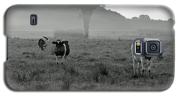 Galaxy S5 Case featuring the photograph Misty Morning by Lila Fisher-Wenzel