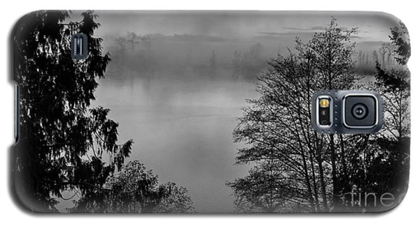 Misty Morning Sunrise Black And White Art Prints Galaxy S5 Case