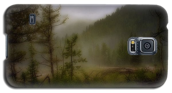 Galaxy S5 Case featuring the photograph Misty Mountain by Ellen Heaverlo