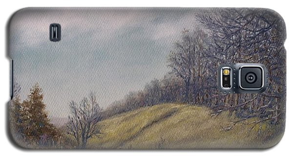 Galaxy S5 Case featuring the painting Misty Mountain Valley by Kathleen McDermott