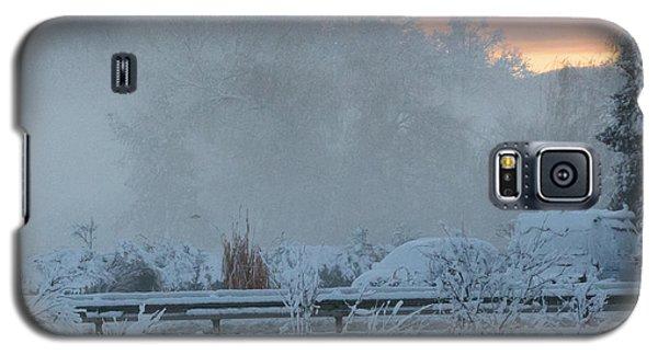 Misty Snow Morning Galaxy S5 Case