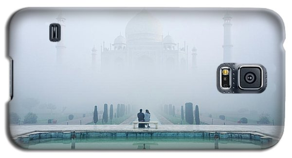 Misty Taj Mahal Galaxy S5 Case
