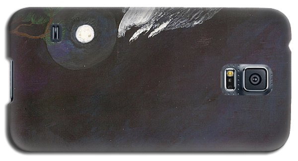 Galaxy S5 Case featuring the painting Misty Twinight by Kim Pate