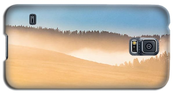 Misty Yellowstone   Galaxy S5 Case