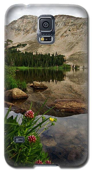 Galaxy S5 Case featuring the photograph Mitchell Lake Reflections by Ronda Kimbrow