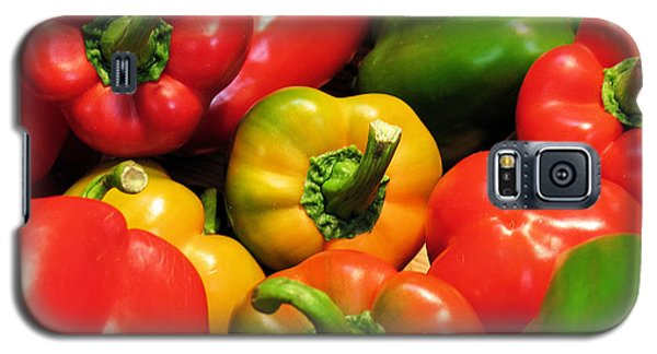 Mixed Bell Peppers Galaxy S5 Case