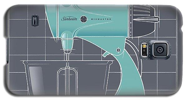 Mixmaster - Aqua Galaxy S5 Case