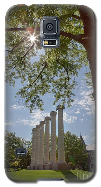 Mizzou Columns Sunflare Galaxy S5 Case by Kay Pickens