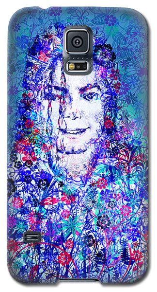Mj Floral Version 2 Galaxy S5 Case