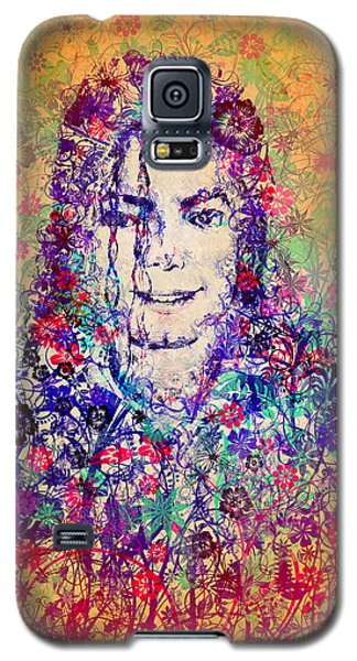 Mj Floral Version 3 Galaxy S5 Case