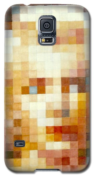 Galaxy S5 Case featuring the painting Marylin by Henryk Gorecki