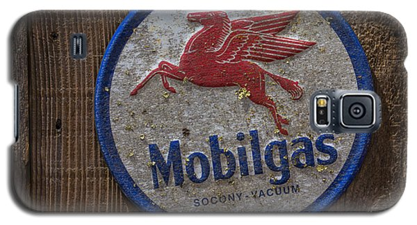 Mobil Gas Sign Galaxy S5 Case