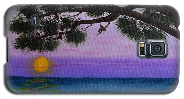 Mobile Bay Sunset Galaxy S5 Case by Melvin Turner