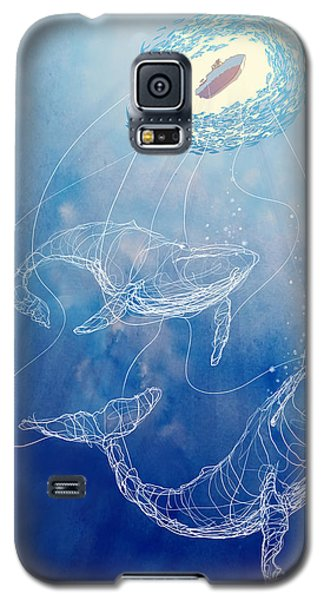 Moby Dick Galaxy S5 Case