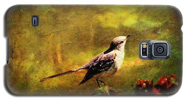 Mockingbird Galaxy S5 Case - Mockingbird Have You Heard... by Lianne Schneider