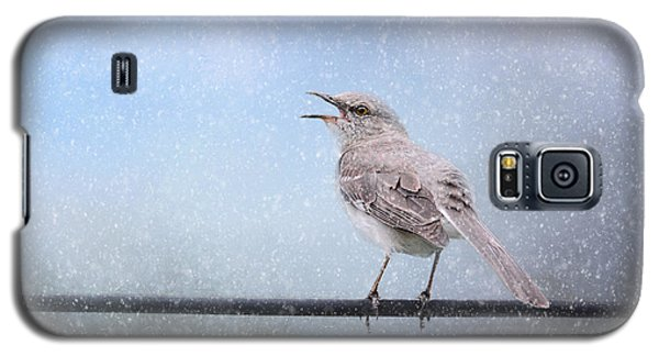 Mockingbird In The Snow Galaxy S5 Case