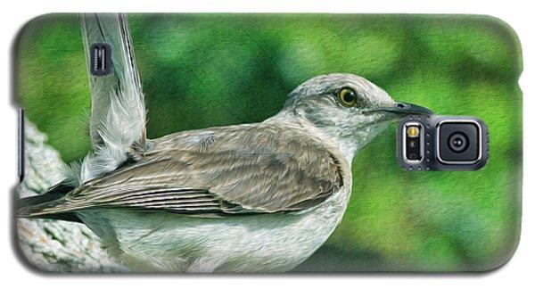 Mockingbird Galaxy S5 Case - Mockingbird Pose by Deborah Benoit