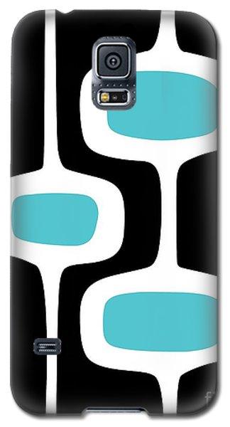 Mod Pod 2 White On Black Galaxy S5 Case