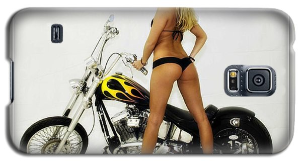 Models And Motorcycles_j Galaxy S5 Case
