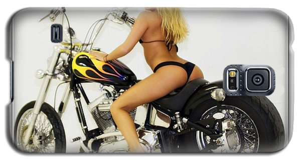 Models And Motorcycles_k Galaxy S5 Case