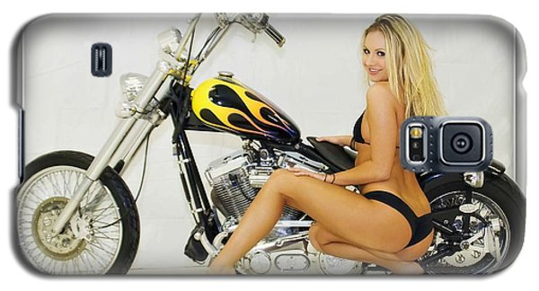 Models And Motorcycles_l Galaxy S5 Case