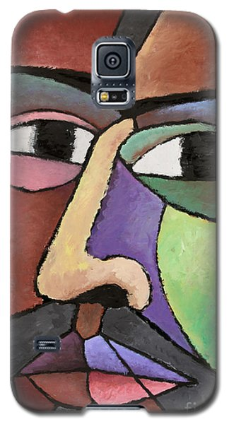 modern abstract art - About Face Galaxy S5 Case