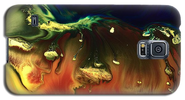 Modern Abstract Art Sinking Rocks By Kredart Galaxy S5 Case