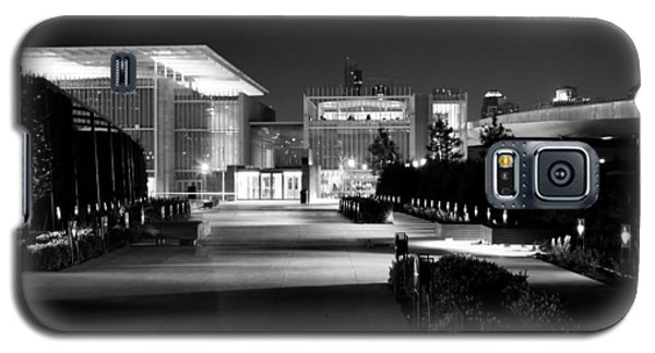 Modern Architecture Night Black White Galaxy S5 Case