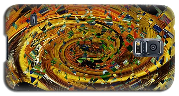 Galaxy S5 Case featuring the digital art Modern Art II by rd Erickson