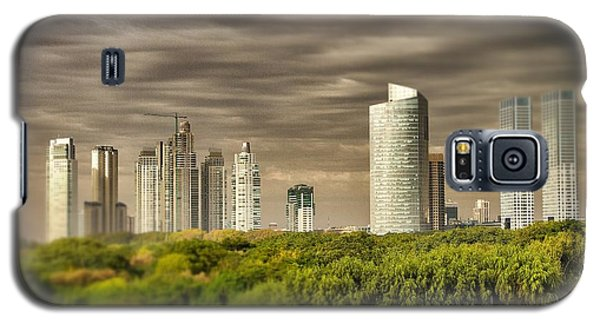 Modern Buenos Aires Tilt Shift Galaxy S5 Case by For Ninety One Days