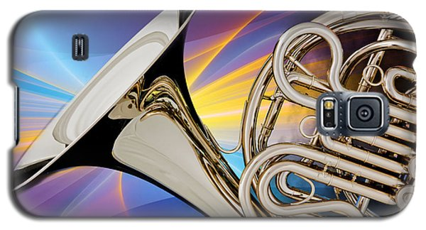 Modern French Horn Photograph In Color 3437.02 Galaxy S5 Case