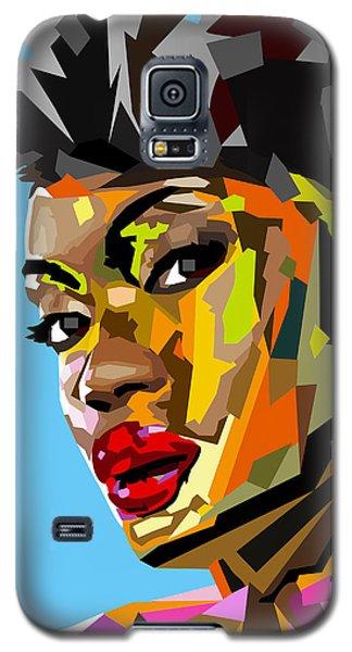 Galaxy S5 Case featuring the digital art Modern Woman by Anthony Mwangi