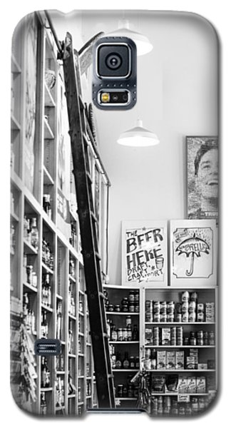 Modica Market - Black And White Galaxy S5 Case by Shelby  Young