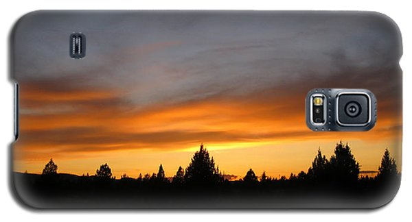 Galaxy S5 Case featuring the photograph Modoc Sunset by Jennifer Muller