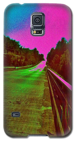 Galaxy S5 Case featuring the photograph Moffit Bridge And Maple Ridge Rd. by Daniel Thompson