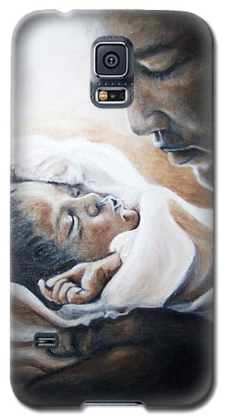 Mohammad Ali And Baby Laila Galaxy S5 Case