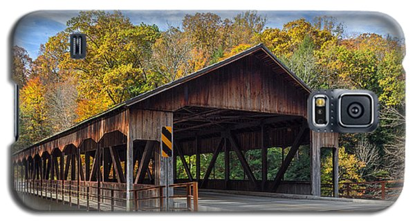 Mohican Covered Bridge Galaxy S5 Case