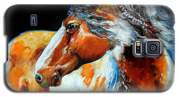 Mohican The Indian War Pony Galaxy S5 Case
