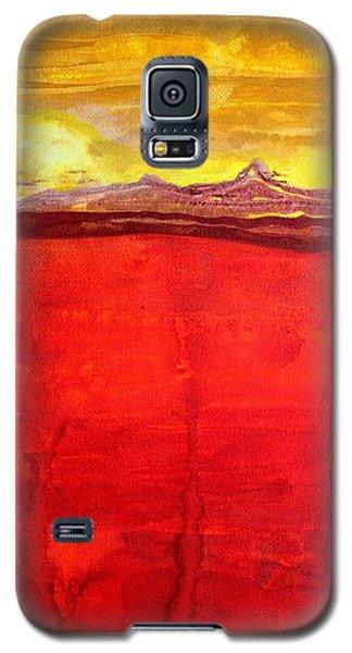 Mojave Dawn Original Painting Galaxy S5 Case
