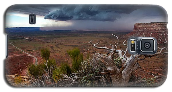 Moki Dugway Thunderstorm - Southern Utah Galaxy S5 Case