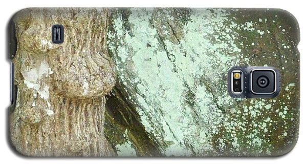 Galaxy S5 Case featuring the photograph Mold On Rock by Pete Trenholm