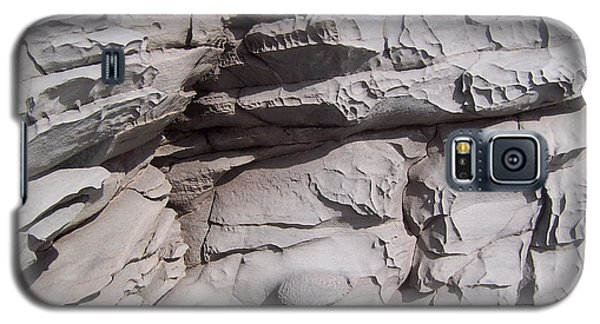 Galaxy S5 Case featuring the photograph Molded Rocks 2 by Sheila Byers