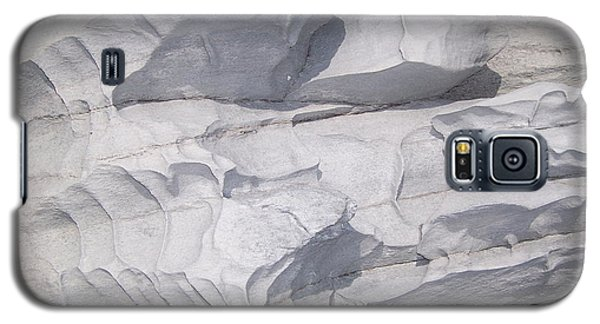 Galaxy S5 Case featuring the photograph Molded Rocks by Sheila Byers
