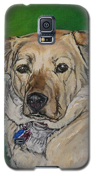 Galaxy S5 Case featuring the painting Molly by Wendy Shoults