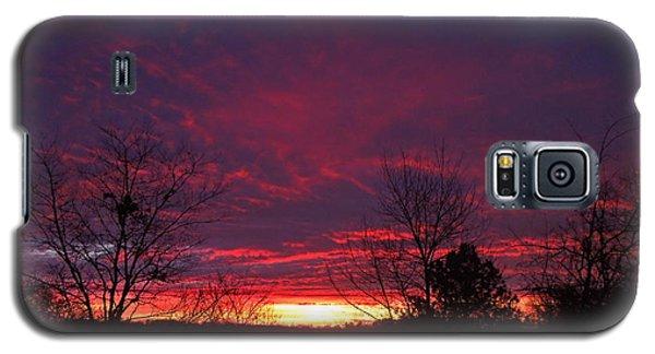 Molten Sunrise Galaxy S5 Case by Pete Trenholm
