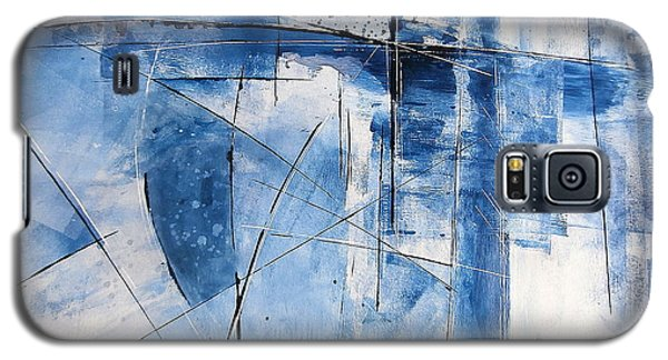 Galaxy S5 Case featuring the painting Moment Of Inertia by Buck Buchheister