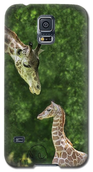 Momma Loves Me Galaxy S5 Case by Marianne Campolongo